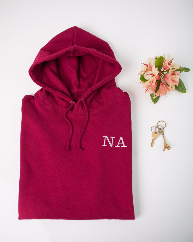 Adult Monogrammed Hoodie | Ted & Stitch