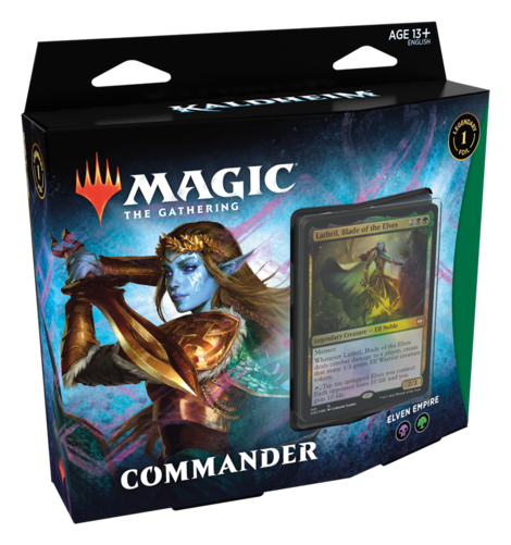 MTG: Kaldheim Commander Deck Elven Empire