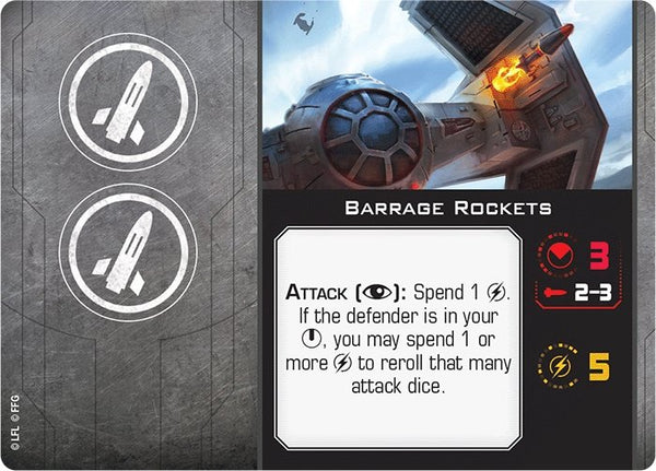 Barrage Rockets - The Gaming Place