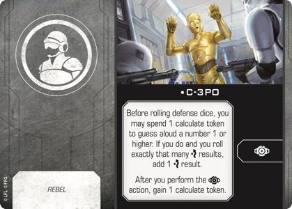 C-3PO (Crew/Rebel) - The Gaming Place