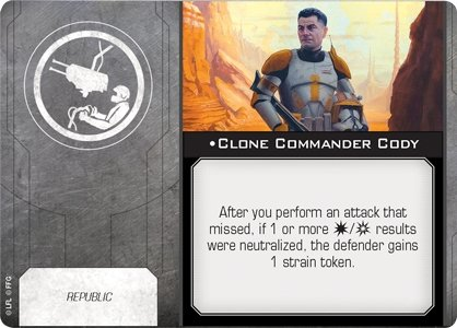 Clone Commander Cody - The Gaming Place