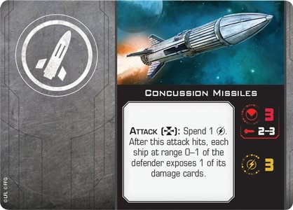 Concussion Missiles - The Gaming Place