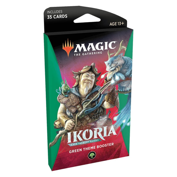 Ikoria: Lair of Behemoths - Theme Booster Pack GREEN (35 Cards) - The Gaming Place