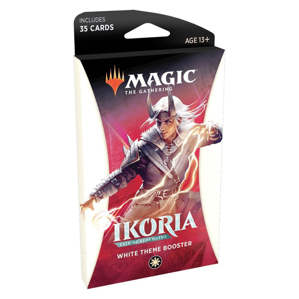 Ikoria: Lair of Behemoths - Theme Booster Pack WHITE (35 cards) - The Gaming Place