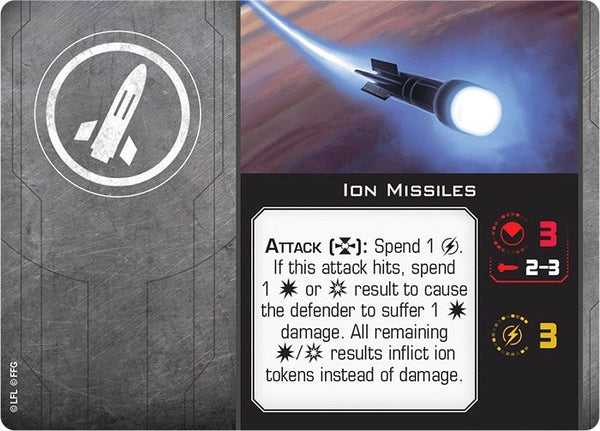 Ion Missiles - The Gaming Place