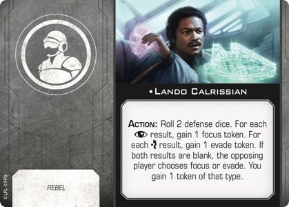 Lando Calrissian (Crew/Rebel) - The Gaming Place