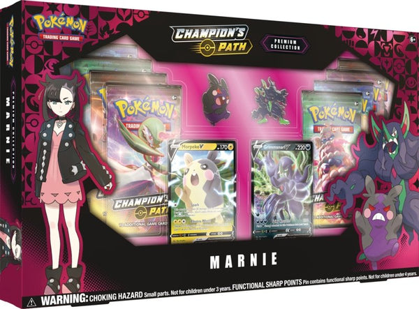 Pokemon TCG: Champion's Path Premium Collection - Marnie (SWSH3.5) - The Gaming Place