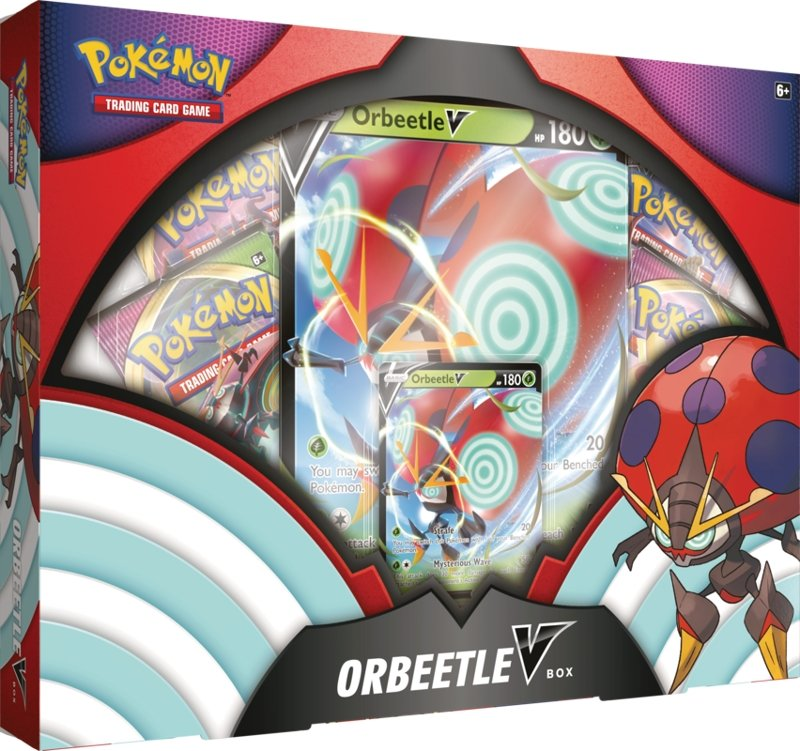 Pokemon TCG: Orbeetle V Box - The Gaming Place
