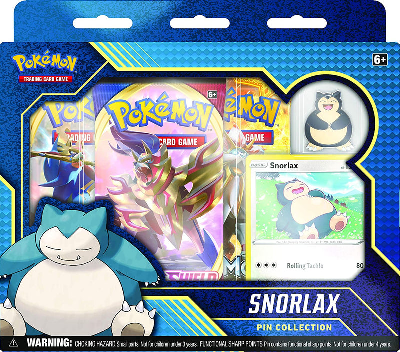 Pokémon TCG: Snorlax and Morpeko Pin Collection - MORPEKO - The Gaming Place