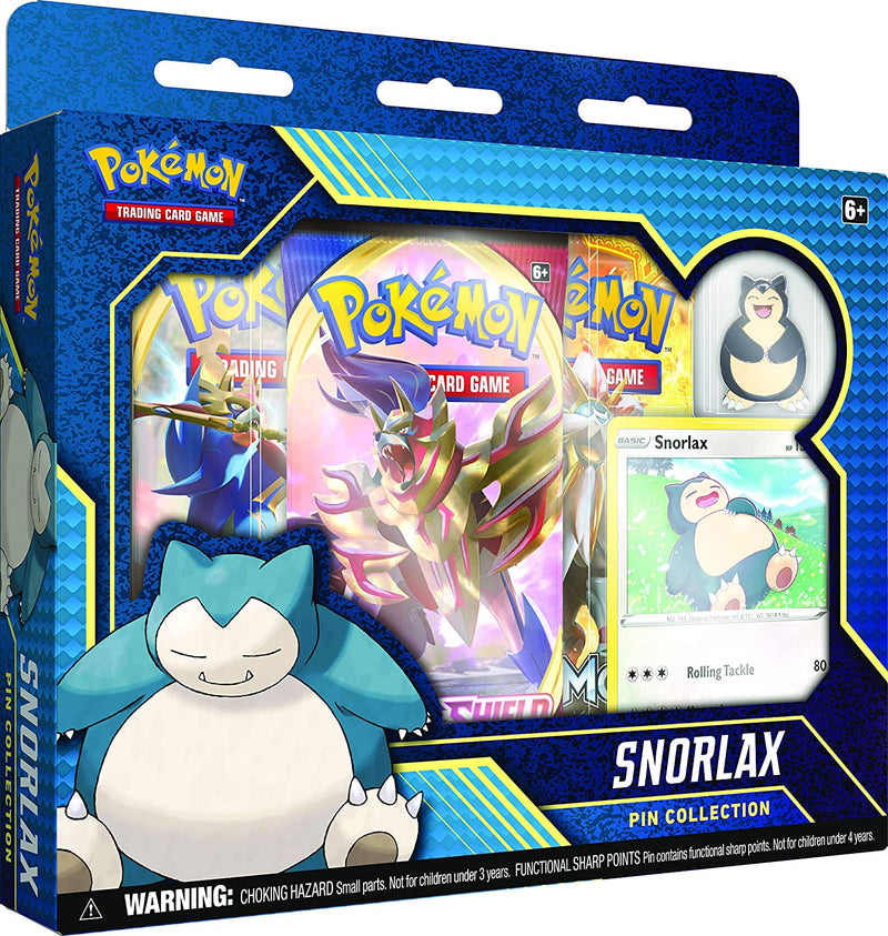 Pokémon TCG: Snorlax and Morpeko Pin Collection - SNORLAX - The Gaming Place