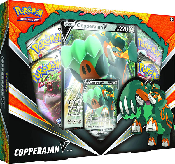 Pokémon Trading Card Game: Copperajah-V Box - The Gaming Place