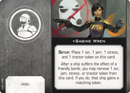 Sabine Wren (Crew) - The Gaming Place