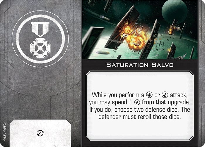 Saturation Salvo - The Gaming Place
