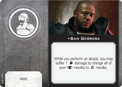 Saw Gerrera (Crew) - The Gaming Place