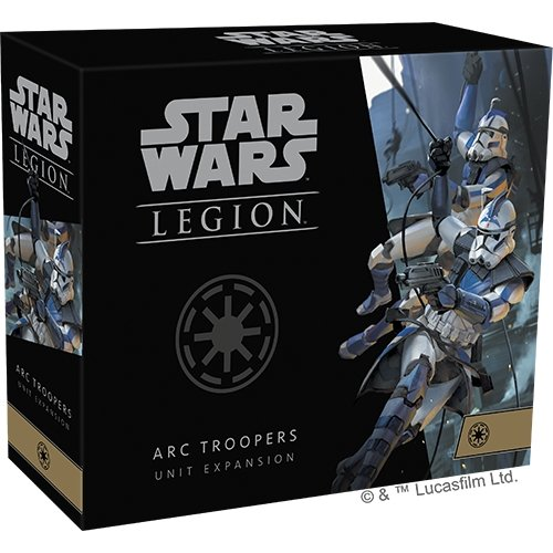 Star Wars Legion: ARC Troopers Unit Expansion - The Gaming Place