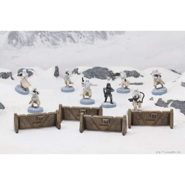 Star Wars Legion : Barricades Pack - The Gaming Place
