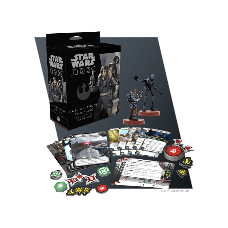 Star Wars Legion : Cassian Andor and K-2SO Commander Expansion - The Gaming Place