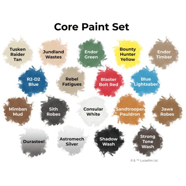 Star Wars Legion : Core Paint Set - The Gaming Place
