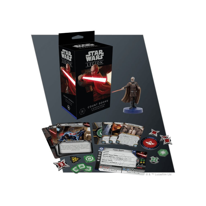 Star Wars Legion : Count Dooku Commander Expansion - The Gaming Place