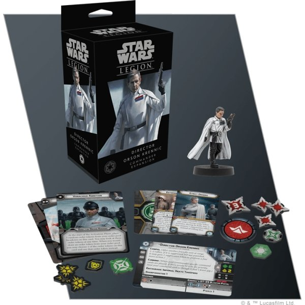 Star Wars Legion : Director Orson Krennic Commander Expansion - The Gaming Place