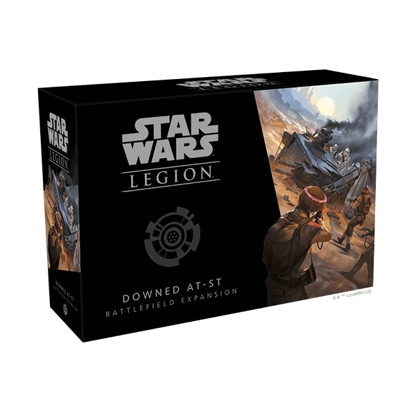 Star Wars Legion : Downed AT-ST Battlefield Expansion - The Gaming Place