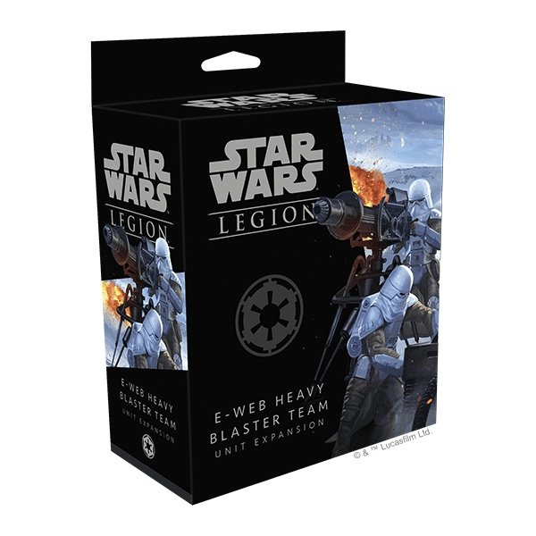 Star Wars Legion : E-Web Heavy Blaster Unit Expansion - The Gaming Place