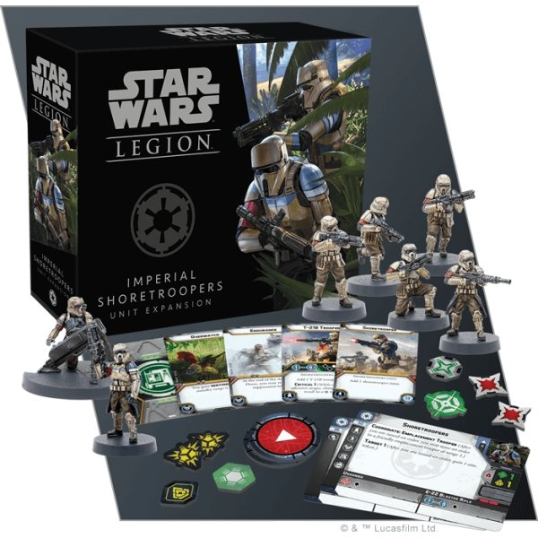 Star Wars Legion : Imperial Shoretroopers Unit Expansion - The Gaming Place