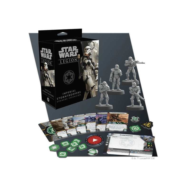 Star Wars Legion : Imperial Stormtrooper Upgrade Expansion - The Gaming Place