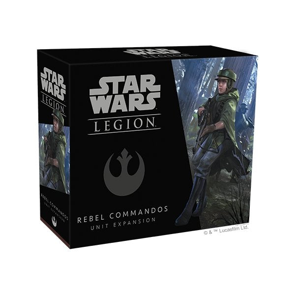 Star Wars Legion : Rebel Commandos Expansion - The Gaming Place
