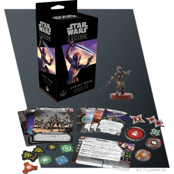 Star Wars Legion : Sabine Wren Operative Expansion - The Gaming Place