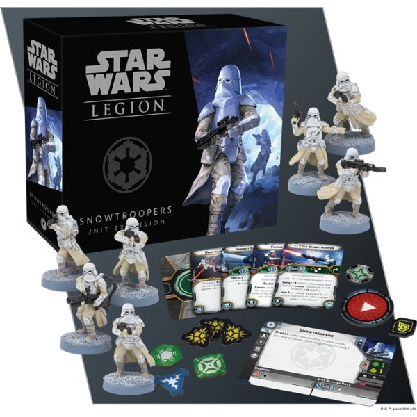 Star Wars Legion : Snowtroopers Unit Expansion - The Gaming Place