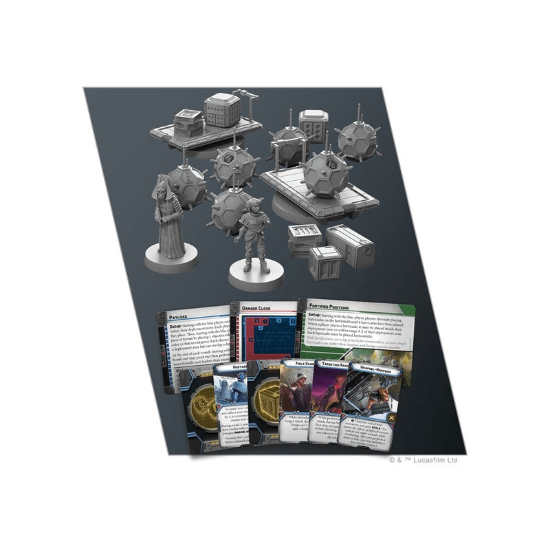 Star Wars Legion : Vital Assets Battlefield Expansion - The Gaming Place