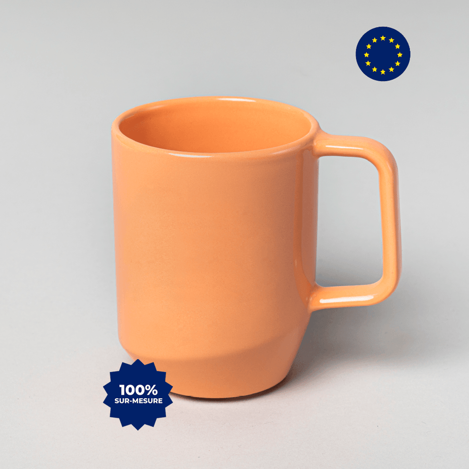 Mug design 100% personnalisable - Europe - 360ml - Panopli
