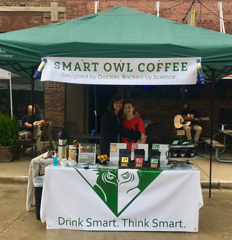 Smart Owl Coffee, Organic Coffee, Supplement Coffee, Vitamin Coffee, Infused Coffee