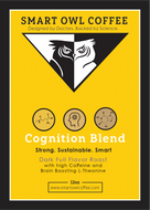 Coffee, Smart Owl Coffee, brain coffee, cognition blend, organic coffee, l-theanine coffee, vitamin coffee, supplement coffee