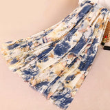 5 colors--flower-ptinted--cotton scarf,shawl, muslim hijab AW-VS01
