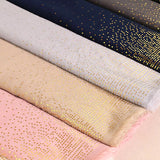 7 colors--hot stamping--cotton scarf,shawl, muslim hijab AW-VS023