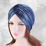 Muslim african women turban-chemo cap--6 colors JD-TJM-413
