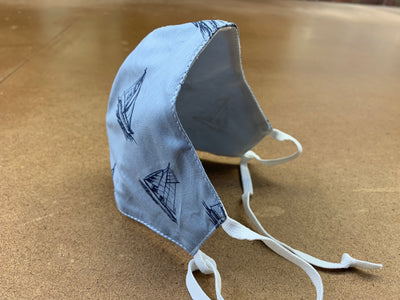 NoVirGuard™ Mask - Boats Blue Chambray
