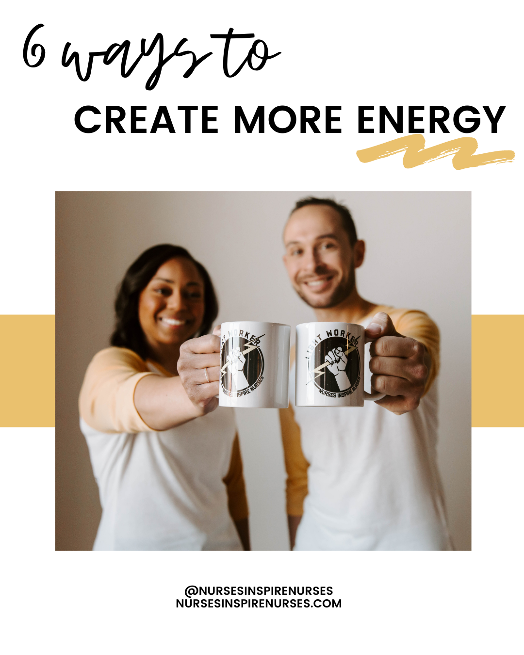 6 Ways To Create More Energy