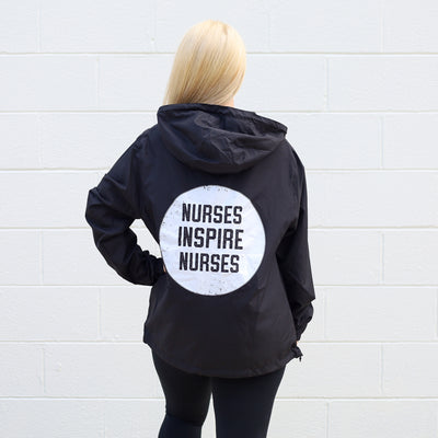Nurses Inspire Nurses Windbreaker