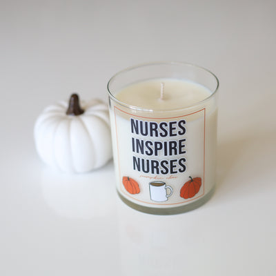 Nurses Inspire Nurses Fall Candles
