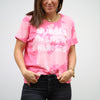 Nurses Inspire Nurses Hot Pink Bleach Tee