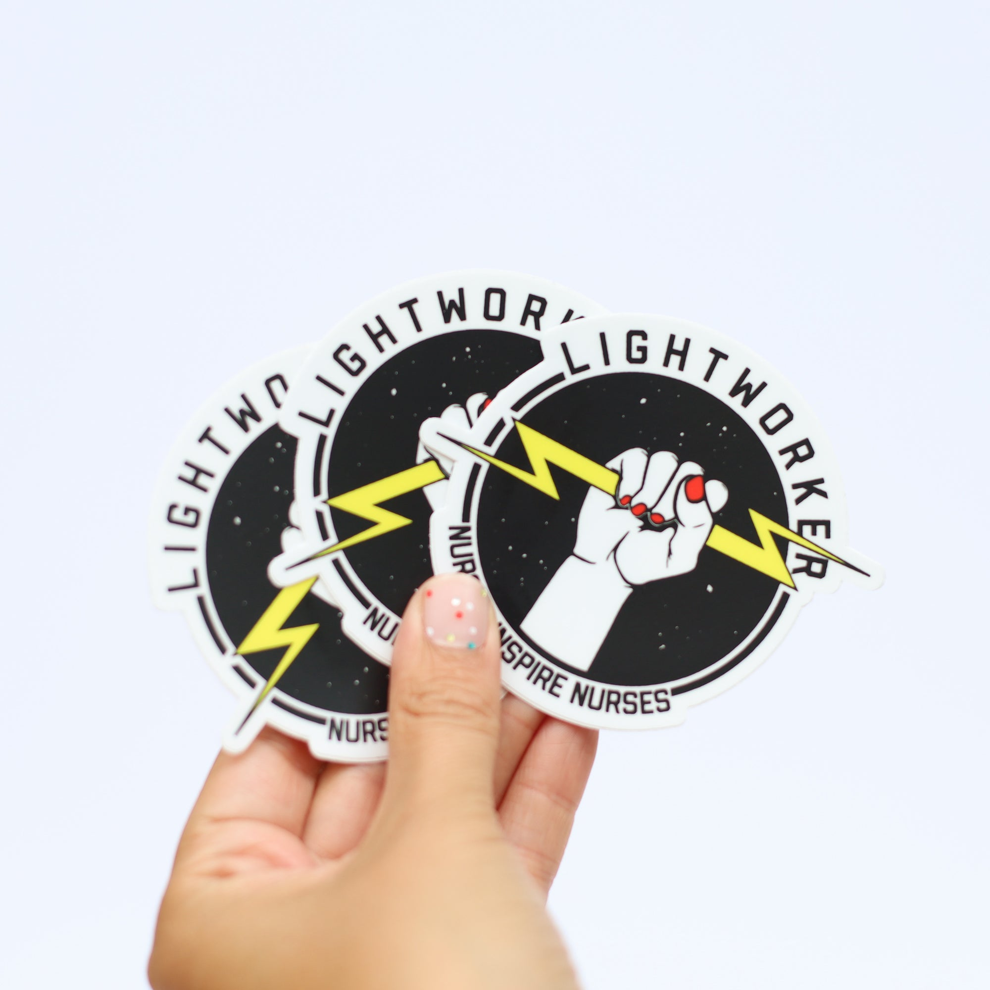 Lightworker Die-Cut Sticker