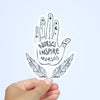 Healing Hands Collection Bumper Sticker