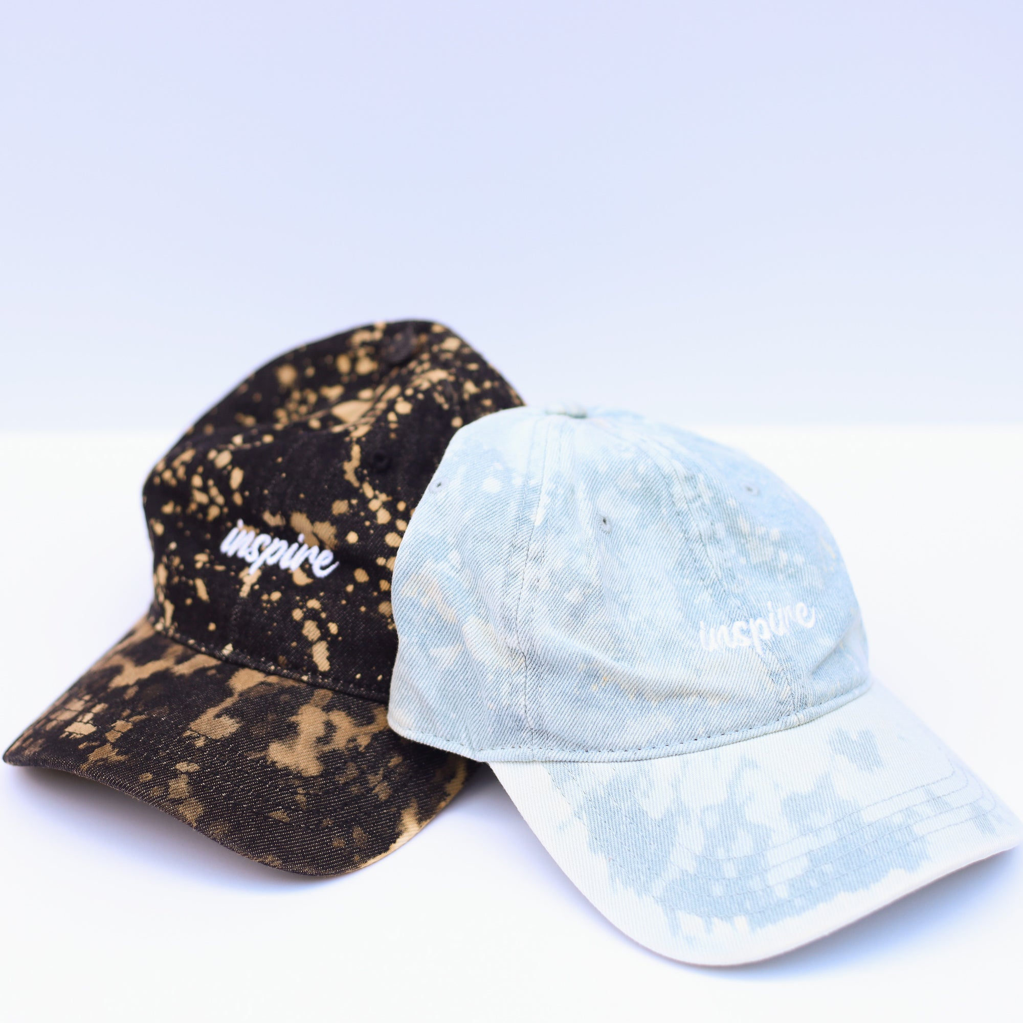 Inspire Bleached Baseball Hat