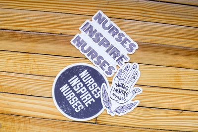Nurses Inspire Nurses Sticker Pack