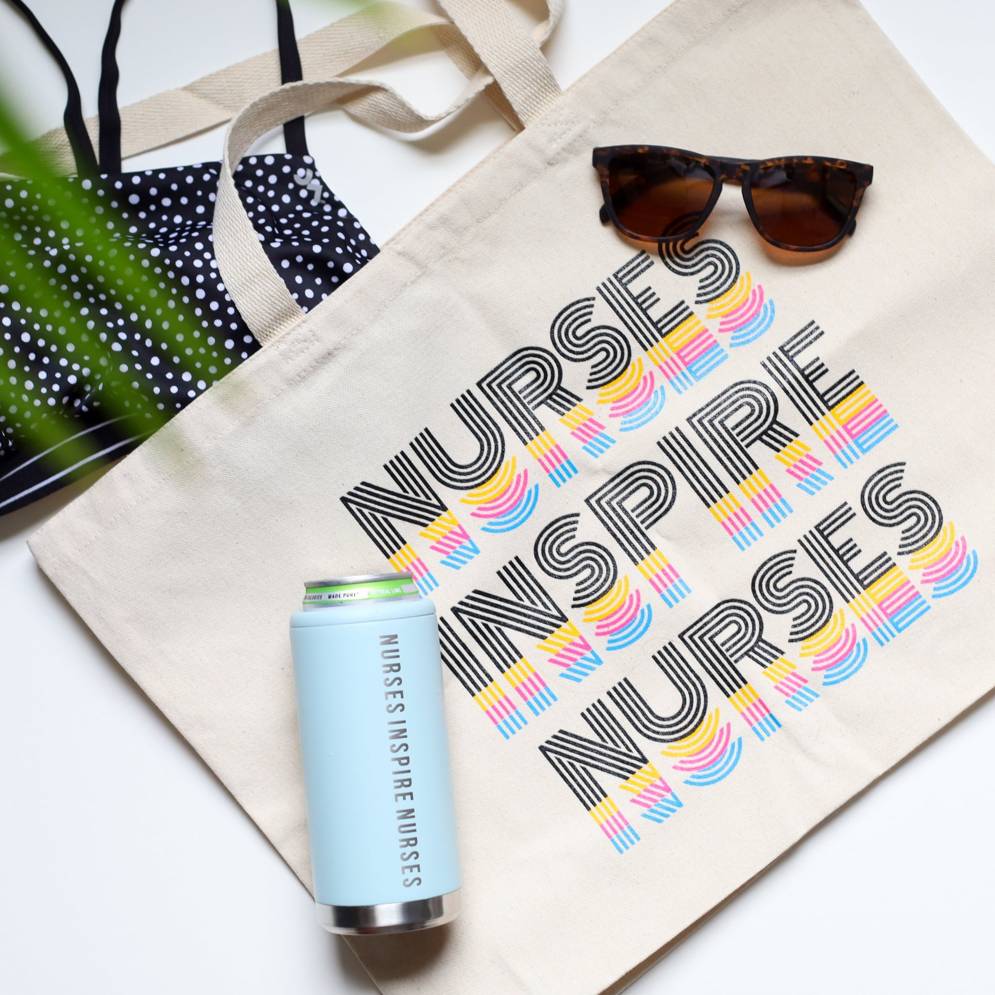 Summer Tote & Skinny Can Tumbler Bundle