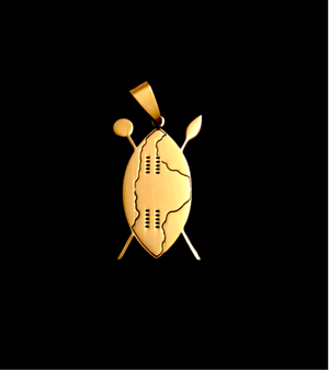 NGUNI SHIELD - GOLD