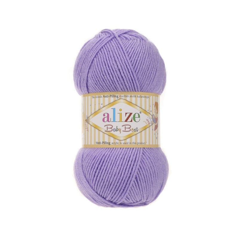 Alize Baby Best Alize Baby Best / Lavender (43)